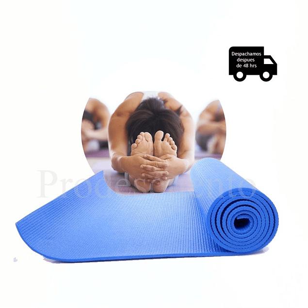 Mat Yoga Profesional 8mm 176x62cm Pvc
