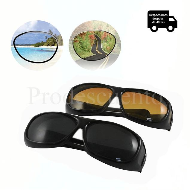 Set de 2 lentes de visión Hd, Día y Noche