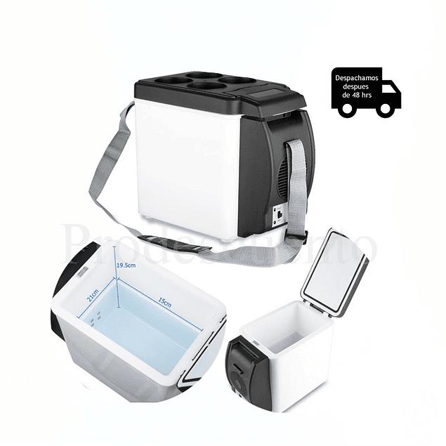 Cooler Electrico Portatil 12volts para viaje y auto