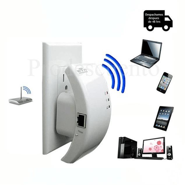 Repetidor Amplificador Señal Wifi N/b/g 300mbps