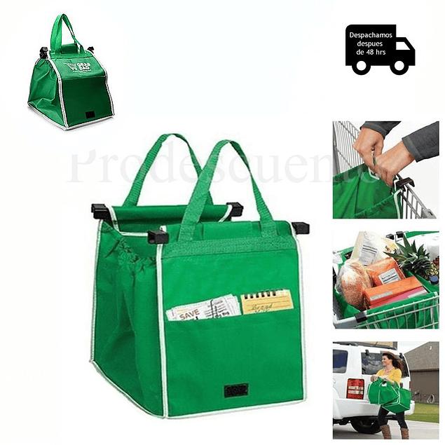 Set de 2 Bolsa Ecológica Reutilizable Para Supermercado