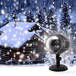 Proyector Led efecto nieve