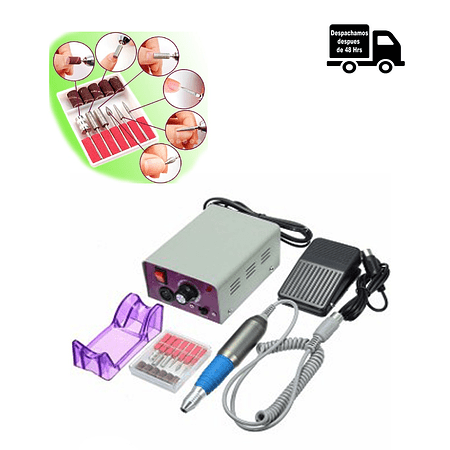 Set De Manicure Y Pedicure Electrico