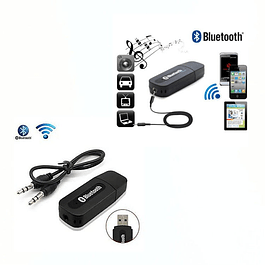 Receptor Adaptador Audio Bluetooth Usb 3.5mm