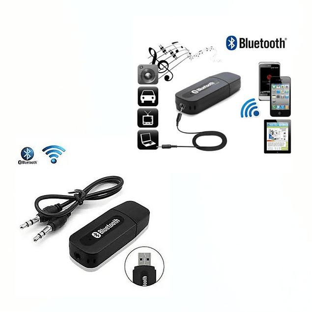 Receptor Adaptador Audio Bluetooth Usb 3.5mm