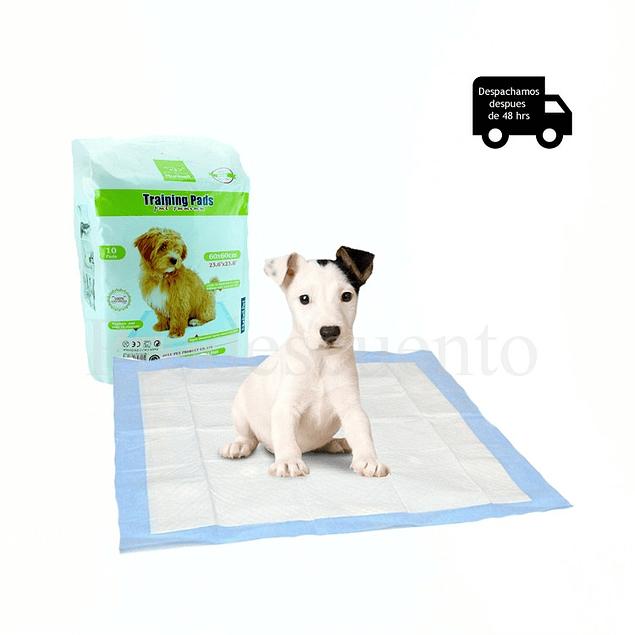 Pañal Adiestramiento Perros 60x90, 10 unidades