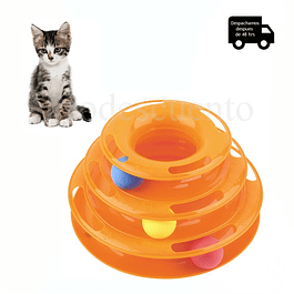 Juguete para Gatos 3 Niveles Tower Of Tracks