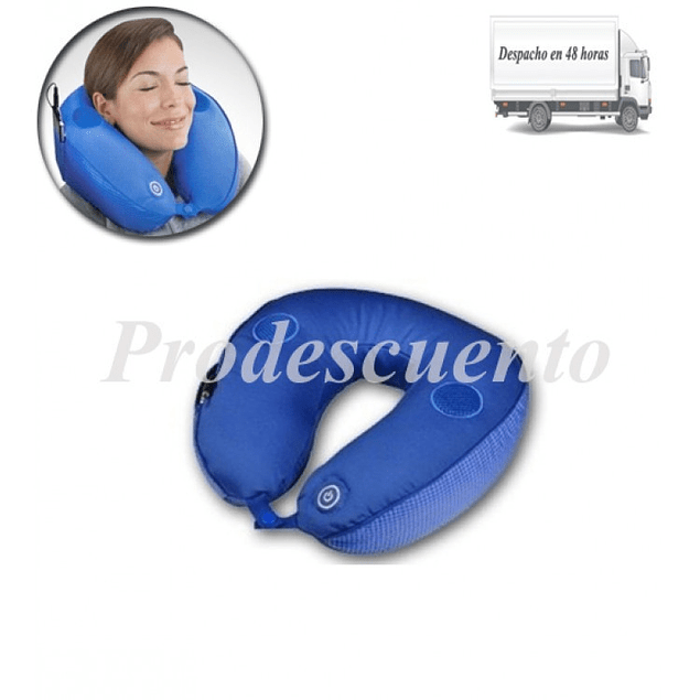 Cojin Masajeador para Cuello con Conexion para dispositivos moviles