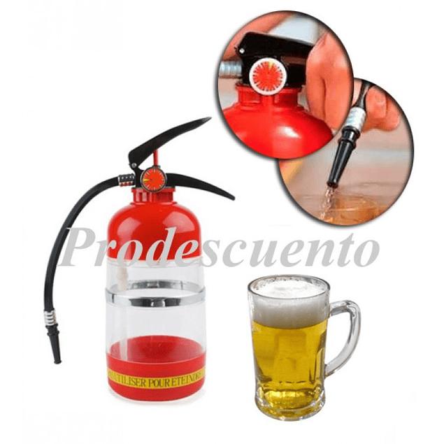Dosificador de Liquido en Forma de Extintor
