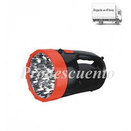 Linterna 15 Led Recargable