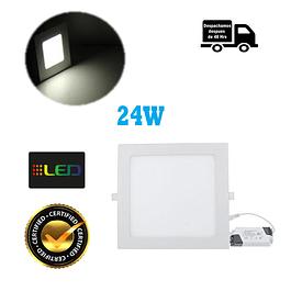 Foco Panel Embutido Cuadrado 24w Luz Neutro