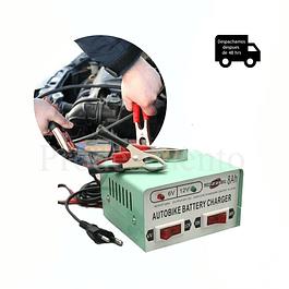 Cargador De Batería 12v y 6v Para Autos y Motos