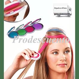 Set de 4 tizas para pintar el cabello