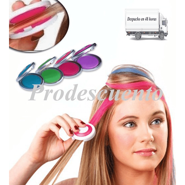 892417b19 Set de 4 tizas para pintar el cabello