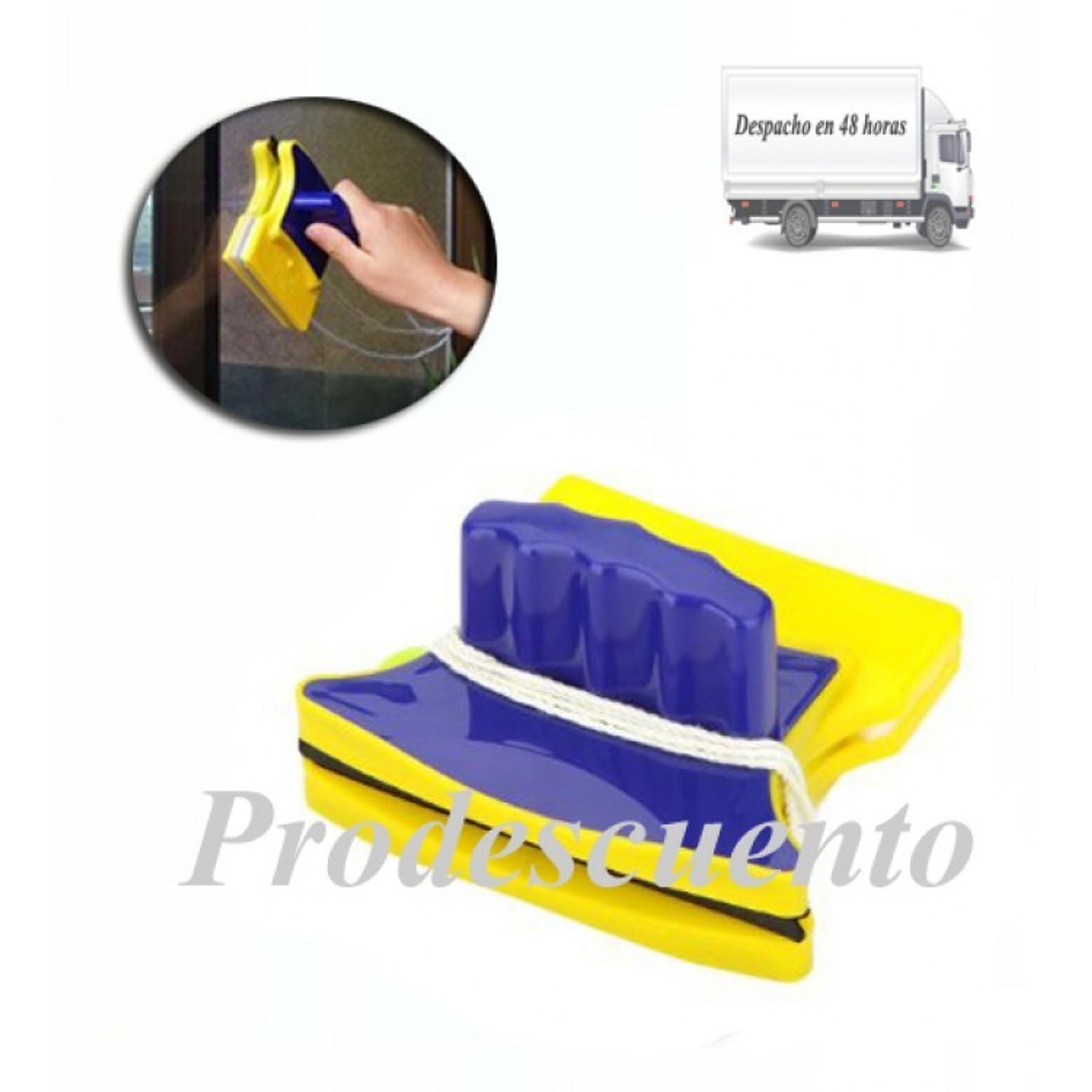 Limpiador de vidrios magneticos