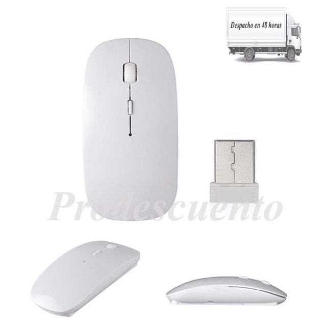 Mouse Inhalambrico 4d