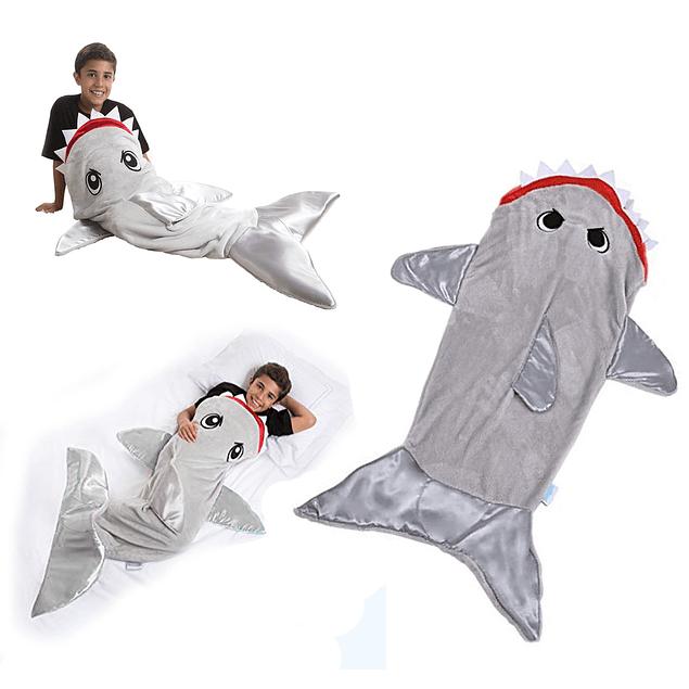 Saco De Dormir Con Forma de Cola De Tiburón
