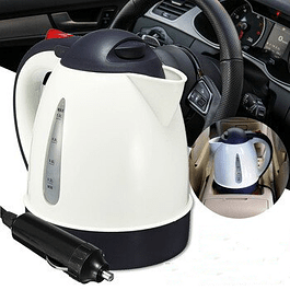 Hervidor Calentador Para Auto de 12V y 1 Litro