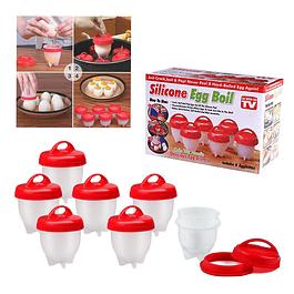 Set de 6 Recipientes Para Cocinar Huevos