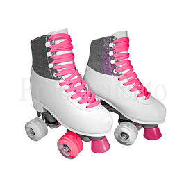 Patines Blancos Con Luces