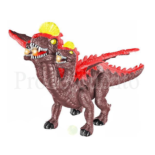 Dinosaurio 3 cabezas