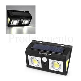 Lampara Solar Con Sensor De Moviemiento