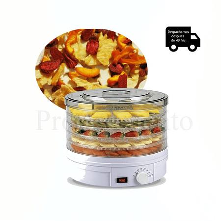 Deshidratador de Alimentos para Frutas, Carne y verduras 250watts