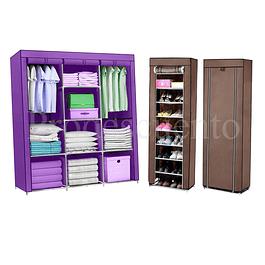 Closet + Zapatero Armable