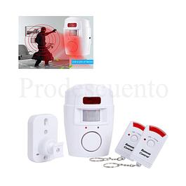 Alarma Con Sensor De Movimiento Infrarrojo