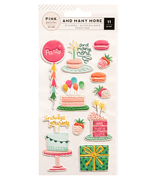 PUFFY STICKERS - AND MANY MORE