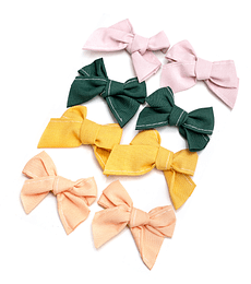 EMBELLISHMENT - MAGICAL FOREST - FABRIC BOWS