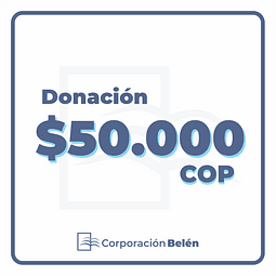 Donación $50.000 COP