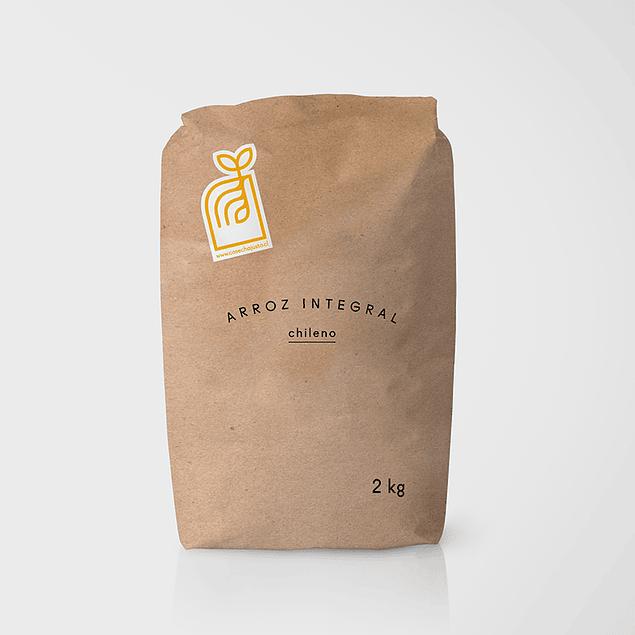 Harina de arroz integral 2 kg