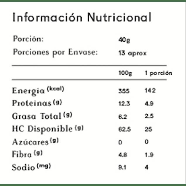 Harina de Quinoa 2 kg