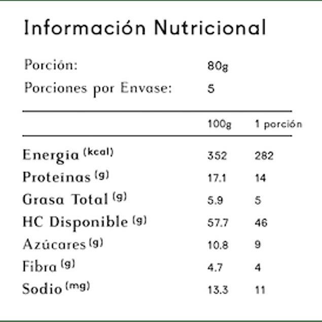 Pasta de Garbanzo 1 kg