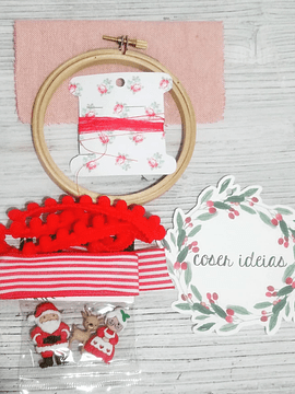 Kit DIY Bastidor Natal