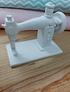 Máquina de costura miniatura