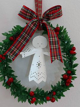 Mini Grinaldas de Natal