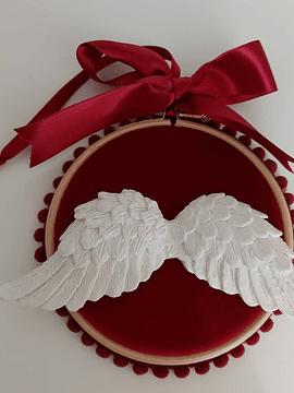 Pendurado Angel Veludo