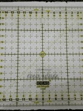 Régua Patchwork 15x15cm
