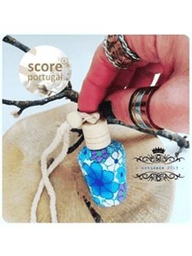 Frasco Ambientador Floral Azul