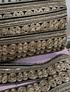 Galão bordado com lantejoulas