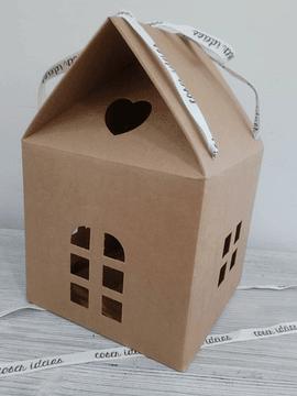 Casa Cartão 20x20x18cm