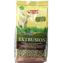 Living World Alimento Para Conejo EXTRUSION