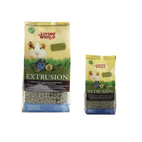 Living World Alimento Para Cuy EXTRUSION