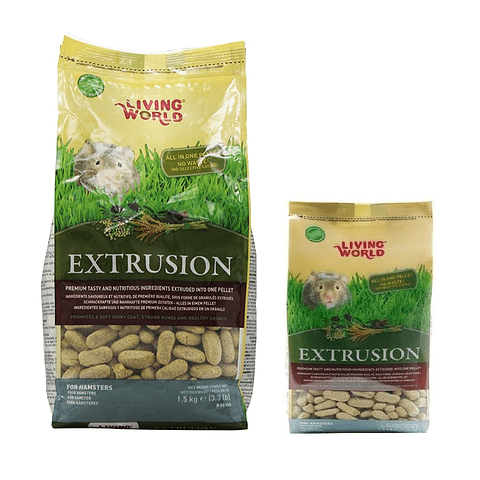 LIVING WORLD Alimento Para Hamster EXTRUSION