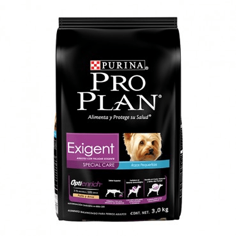 PRO PLAN EXIGENT DOG SMALL BREED