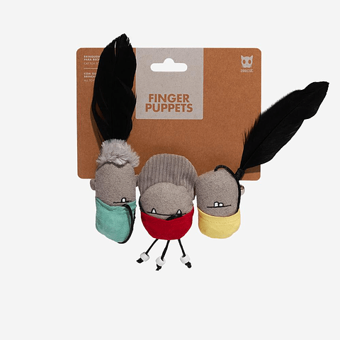 Zee.cat Finger Puppets