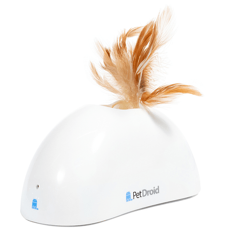 'Pet Droid' con pluma natural, sonido y un sensor de movimiento