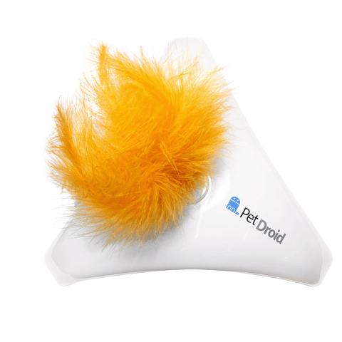 'Pet Droid' con pluma natural  y 3 sensores de movimiento